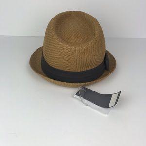4f4133adb31b6 Scala Pronto Accessories - Scala Pronto Fedora Hat Brown Bow NWT